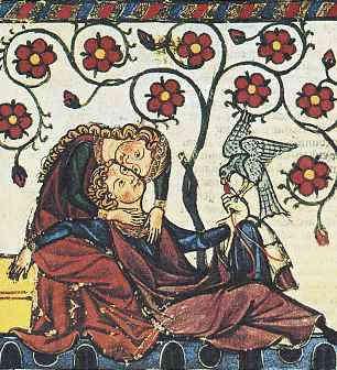 Tristán e Isolda, manuscrito;