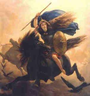 DIOSES CELTAS – Cernunnos, Thor y Walkyria Walkyria